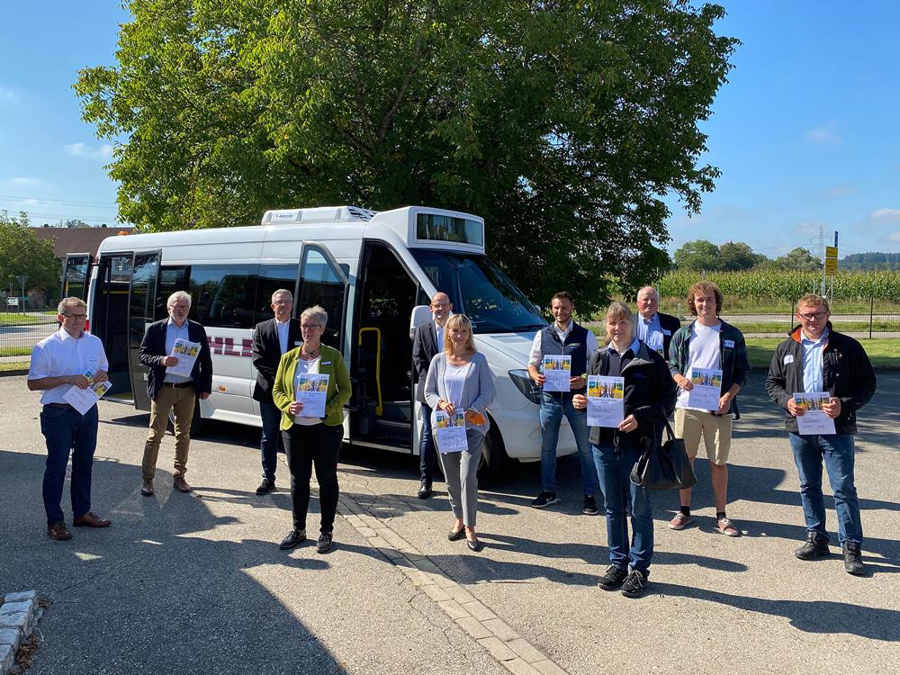 Vor dem Schulstart: Die Schulbusse sind sicher