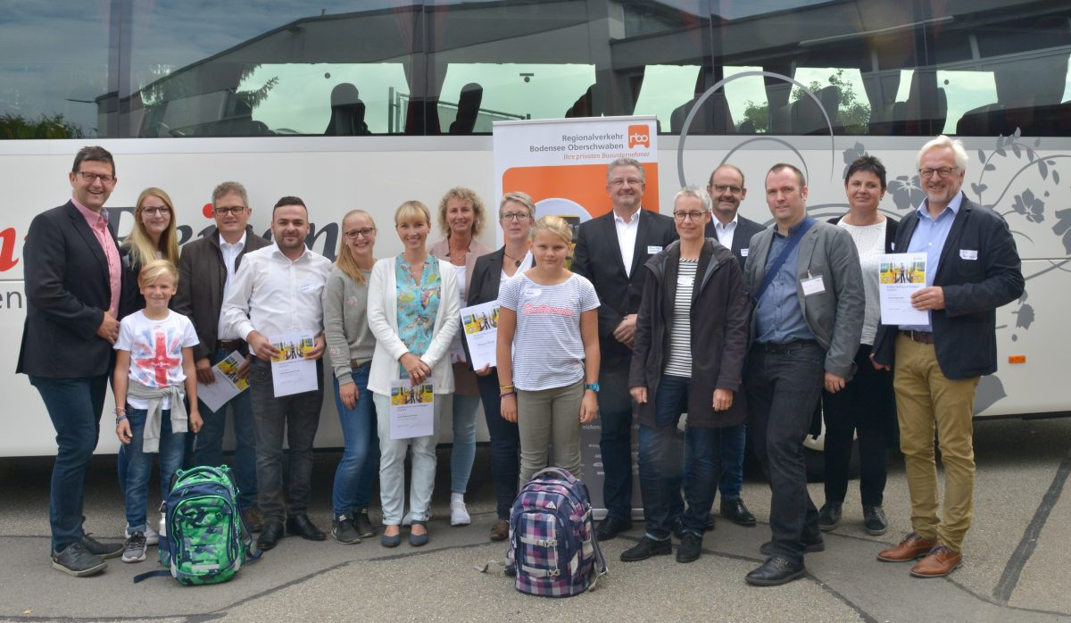 Busse im bodo-Gebiet startklar  für den Schulbeginn
