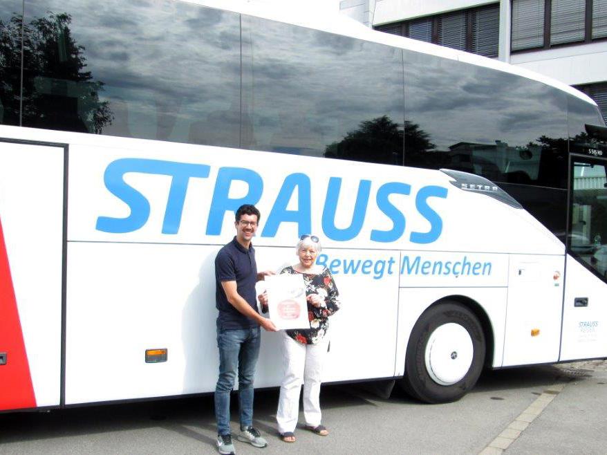 Klara Pollack gewinnt Vereinsausflug