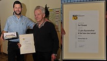 Karl Ehrmann 55 Jahre Chef hinter dem Lenkrad
